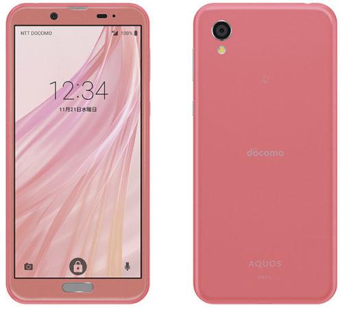 AQUOS sense2 pink SH-01L