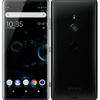 XPERIA XZ3 black 801SO